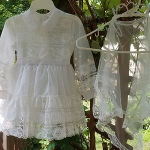 Vintage Christening dress and veil